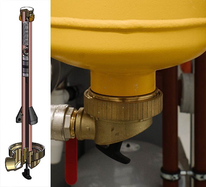 The new dry pocket developed by Spirotech